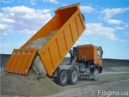 Доставка песок, щебень, бут