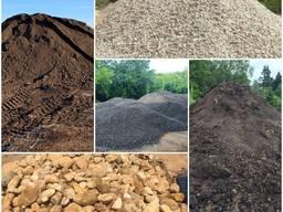 Доставка Песка щебень грунт земля