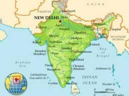 Карго-доставка грузов из Индии в Украину под ключ