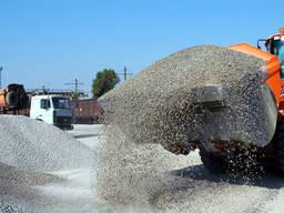 Доставка песка, щебня, бута.