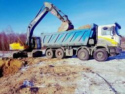 Доставка сыпучих материалов По г. Винница и Области