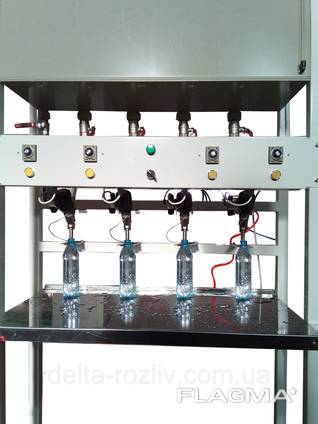 Дозатор для Розлива негазированной воды в ПЭТ-бутылки