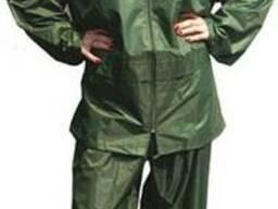 Дождевой костюм водонепроницаемый, зеленый