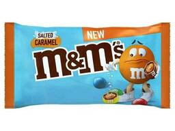 Драже M&M's с соленой карамелью 36 грамм