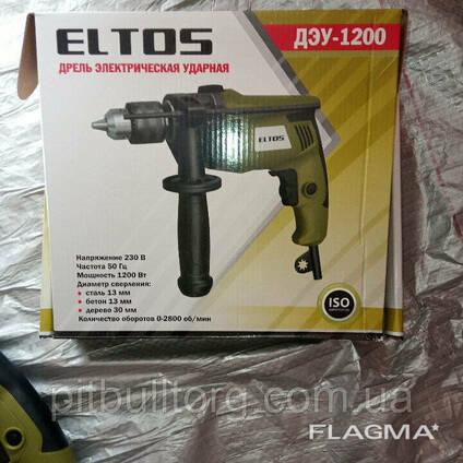 Дрель электрическая ударная Eltos ДЭУ-1200