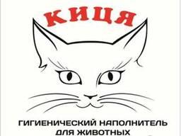 Древесный наполнитель для туалетов кошек и других животных
