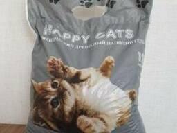 Древесный наполнитель гранулы для котов