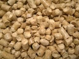 Древесный пеллет (гранула) сосна, светлая DIN , 8 мм