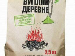 Древесный уголь 2,5кг