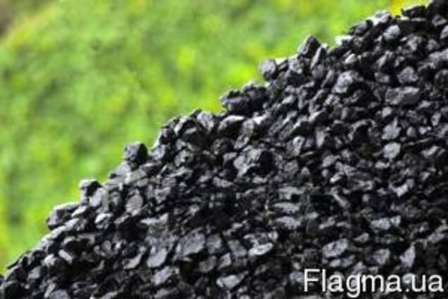 Уголь в наличии орех и семечка