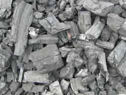 Древесный уголь дуб, граб (ресторанный)