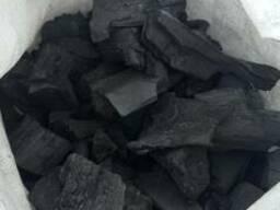 Древесный уголь мягких и твердых пород