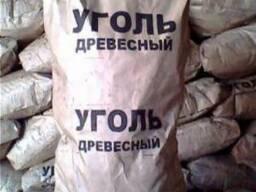 Древесный уголь 14 грн.