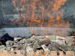 Древесный уголь (ресторанная фракция) фасовка по 10 кг