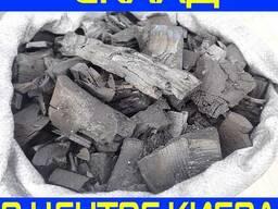 Древесный уголь (склад в Киеве, Подол) в полипропиленовых ме