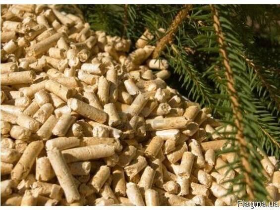 Древесные топливные пеллеты (дубовые опилки)
