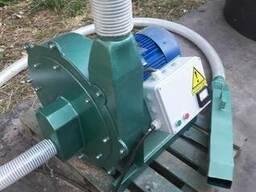 Дробилка молотковая нагнетательная 7,5кВт, 800кг/час.