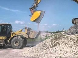 Дроблення бетону переробка будівельних відходів в щебінь