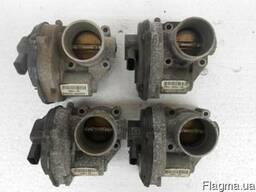 Дроссельная заслонка FORD Fiesta MK6 02-08 б/у ориг1. 25-1. 6