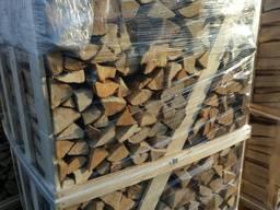 Дрова дуб, граб камерной сушки на экспорт от производителя
