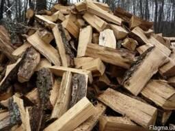 Дрова (дуб). Колотые дрова Бровары, Область. Торфобрикет