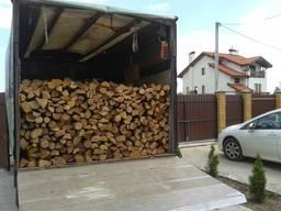 Дубові дрова розмір поліна 28-35см