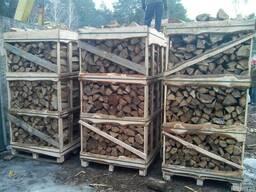 Дрова дуб колотые в ящиках доставка.