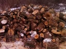 Дрова дубовые колотые, чурки, метровки.