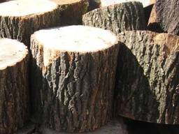 Дрова дубовые в чурках и метровка