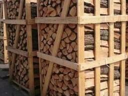 Дрова дубовые в ящиках, Киев и пригород