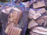 Дрова фруктовые для мангала в сетках.
