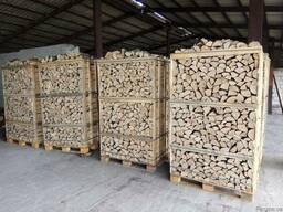 Дрова колоті,сухі камерної сушки (Тільки експорт)