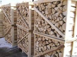 Дрова колотые дубовые на экспорт из Украины