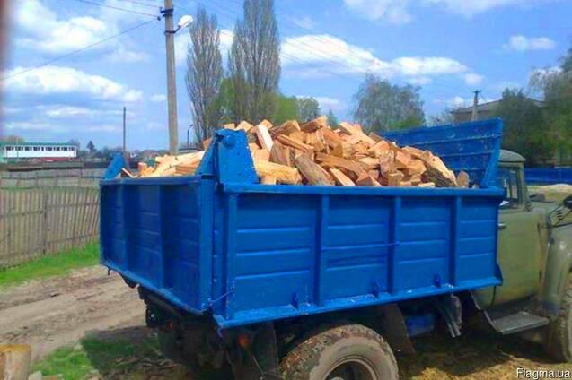 Дрова колотые, метровка 5 400 грн ЗИЛ с доставкой Кременчуг