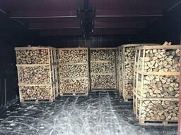Дрова колотые сухие камерной сушки