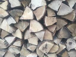 Дрова колотые твердых пород древесины/ Firewood oak split
