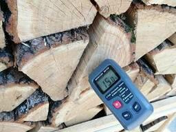 Дрова колотые твердых пород дерева - дуб, ясень - фото 7
