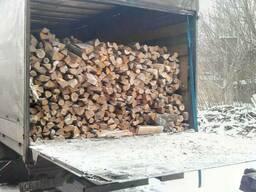 Дрова чурки колотые купить дуб, акация, сосна с доставкой - фото 2