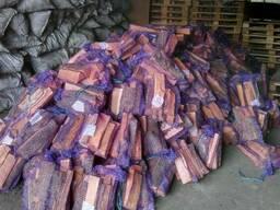 Дрова чурки колотые купить дуб, акация, сосна с доставкой - фото 4