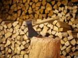 Дрова с доставкой. Дубовые дрова колотые, сухие. - фото 1
