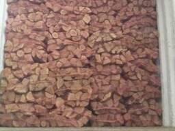 Дрова в сетках после камерной сушки