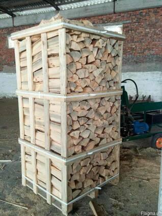 Дрова сосновые в ящиках по 2 складометра