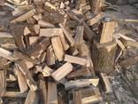 Дрова Сумы Зил дуб ясень колотые метровка обрезки доски брикеты катушки - фото 5