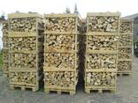 Дрова твердых пород колотые пакетированные, каминные дубовые - фото 1