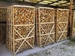 Дрова твердых пород колотые пакетированные, каминные дубовые - фото 2