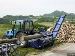 Дровокол Tajfun 400 (Словения), станок для рубки дров