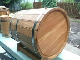 Бочка деревянная, кадка, жбан из дуба, осины, березы