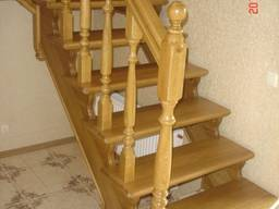 Дубовая лестница D1 на заказ Киев Одесса - фото 3
