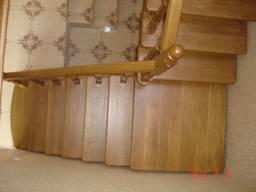 Дубовая лестница D1 на заказ Киев Одесса - фото 6
