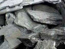 Дубовый древесный уголь в полипропиленовых мешках по 12-16кг